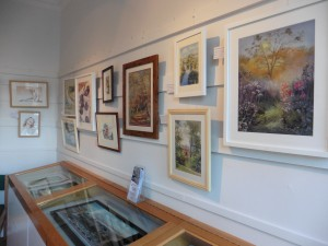 Selection of C & D A pictures in Gallery 5 @ Chippenham Museum & Heritage centre