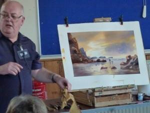 Artist Paul Arnott